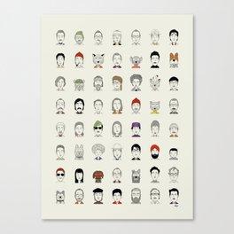 Random People Canvas Print