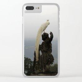 Statue Garden Clear iPhone Case