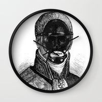 bdsm Wall Clocks featuring BDSM XXI by DIVIDUS