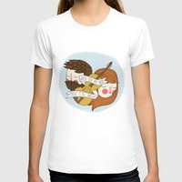 nan lawson T-shirts featuring Music Is All Around by Nan Lawson