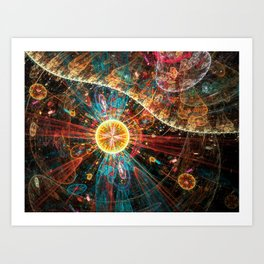 Osmosis Art Print