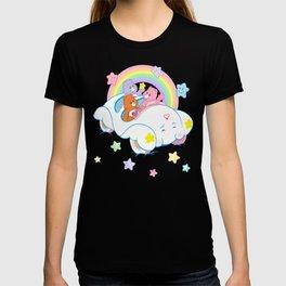 vintage Care Bears Cloud Car T-shirt