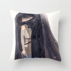 Secret Jedi Kisses Throw Pillow