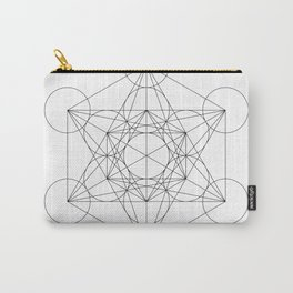 Metatron's Cube Carry-All Pouch