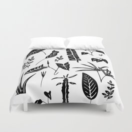 Plants of my home Duvet Cover
