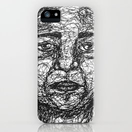The head of a stranger iPhone Case