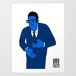 1001 Black Men--#282 Art Print