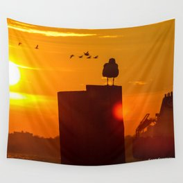 Sit Tight Wall Tapestry