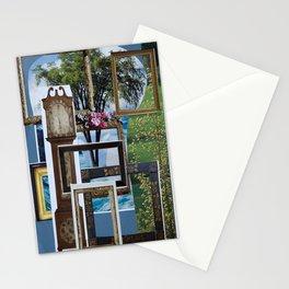 Collage - Framed Stationery Cards
