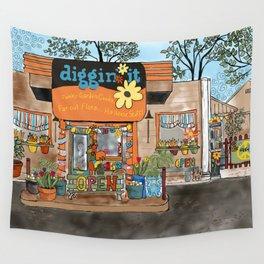 Diggin' it Mckinney, TX Wall Tapestry