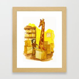 The Menagerie Framed Art Print
