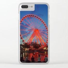 La grande roue de Montréal Clear iPhone Case