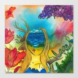 Woman: Jona Canvas Print