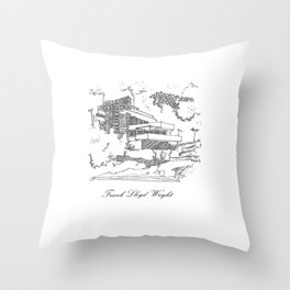 Frank Lloyd Wright Throw Pillow