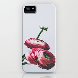 Floral Buds and Blooms iPhone Case