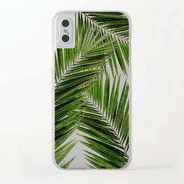 Palm Leaf III Clear iPhone Case