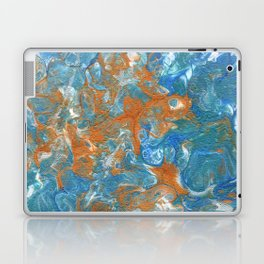 Golden Lacing Laptop & iPad Skin