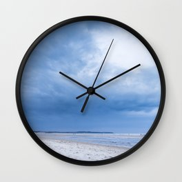 The Sky above the Channel Wall Clock