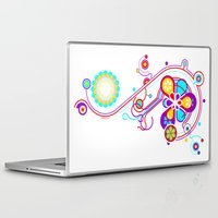 psychedelic Laptop & iPad Skins featuring Psychedelic by tuditees