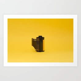 Roll of 35mm film Art Print