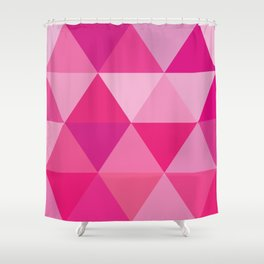 Story of Pinks and Fuchsias Shower Curtain