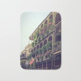 French Quarter Balconies - Royal Street Bath Mat