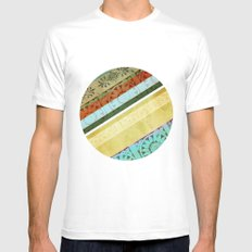 Textile - Green Mens Fitted Tee White SMALL