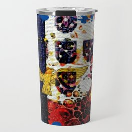 Portuguese flags art Travel Mug
