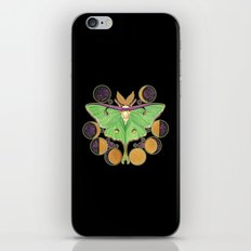 Lunar Moth iPhone Skin