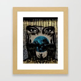 End of Enigma Framed Art Print