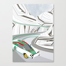 Stratos (Without Text) Canvas Print