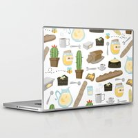 bread Laptop & iPad Skins featuring Bread by Ceren Aksu Dikenci