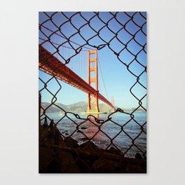 Golden Gate Bridge - SF. Canvas Print