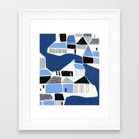 iceland Framed Art Prints featuring iceland by frameless