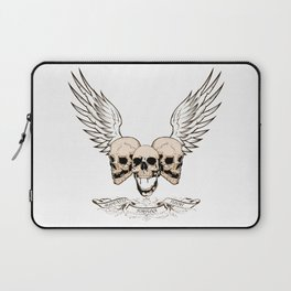Fortune Favors The Brave Laptop Sleeve