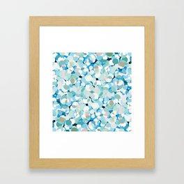 Cold Polka Framed Art Print