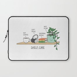 Weekend self-care Laptop Sleeve