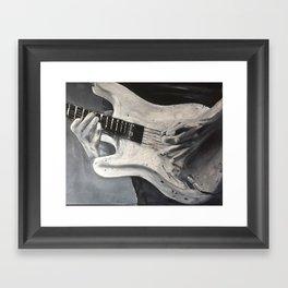 road warrior, stratocaster guitar Framed Art Print