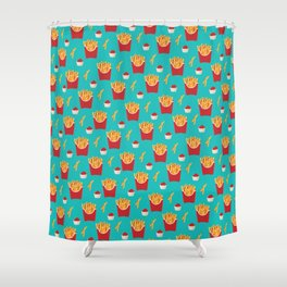 Dippers Shower Curtain