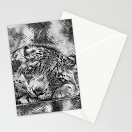 AnimalArtBW_Leopard_20170605_by_JAMColorsSpecial Stationery Cards