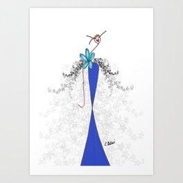 Mistinguette Art Print