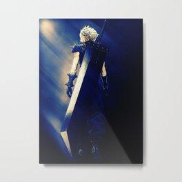 Cloud Strife Final Fantasy Metal Print