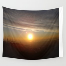 Barcelona Sunrise Wall Tapestry
