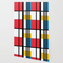 Thinking about Mondrian Wallpaper