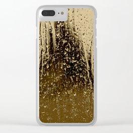 Autre goutte de pluie - heavy #rain Clear iPhone Case