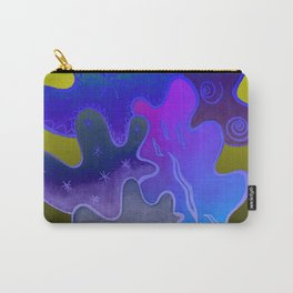 Relaxing Ornamental Spirits. Meditative iFi Art. Stress and Pain Free with MYT3H. Neon. Dreamy. Carry-All Pouch