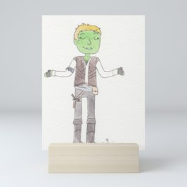 A Half-ork Rogue With A Heart Of Gold Mini Art Print