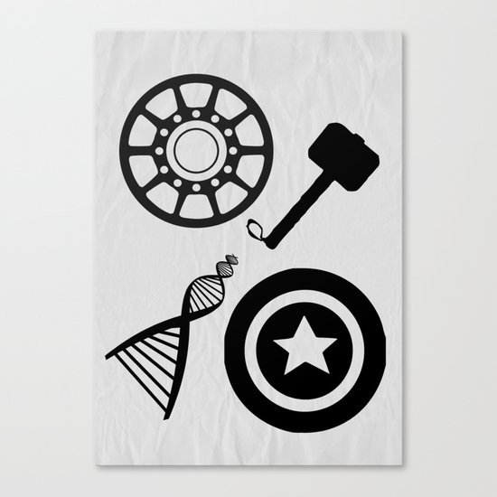 The Avengers Canvas Print