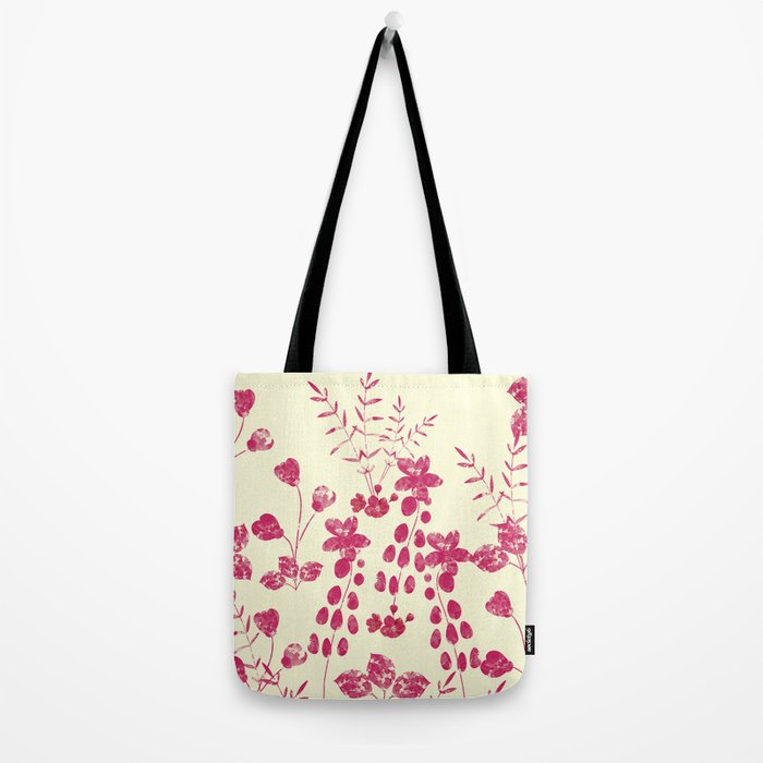 Watercolor floral garden  II Tote Bag