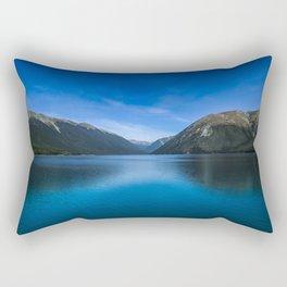 World's Clearest Lake Rectangular Pillow